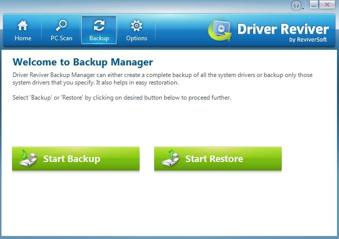 Driver Reviver Backup