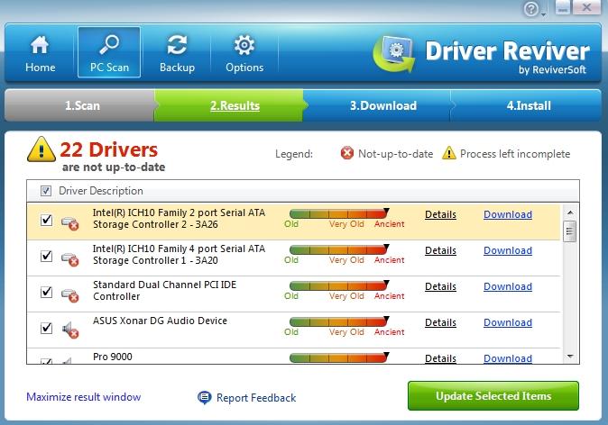 Driver Reviver Scan