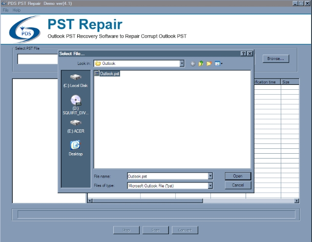 Perfect Data Solutions PST Repair Review