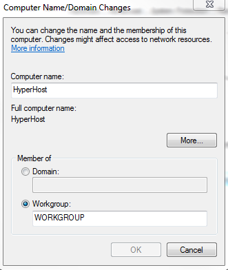 how to change computer name windows 7