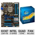 ASUS P8Z77-V LX Quad Core Bundle