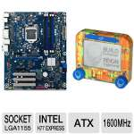 Intel BOXDH77KC Intel 7 Series LGA1155 Moth Bundle