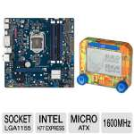 Intel BOXDH77EB Intel 7 Series LGA1155 Moth Bundle
