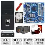 Gigabyte 78LMT-USB3 USB3.0 4GB FX Bundle