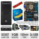 ASUS P8Z77-V LX Intel 7 Series Motherboard Bundle